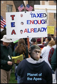 Tea Party; Planet of the Apes