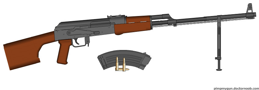 RPK light machine gun