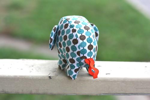 Elephant Softie-blue spots-09