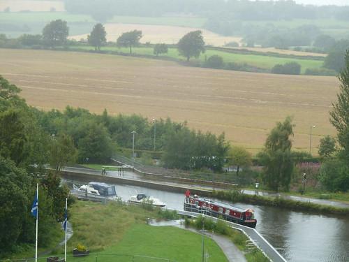 View from Falkirk Wheel, Falkirk