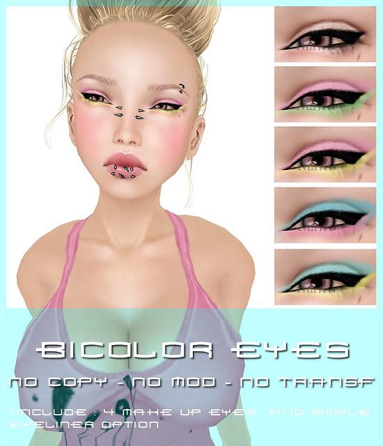 BICOLOR Eyes