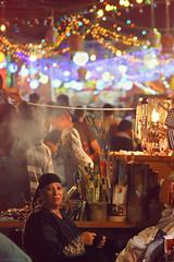 (Sherif Hosni) Tags: street old red orange lady night canon bokeh smoke egypt magenta cairo ramadan hossein azhar 2011 450d
