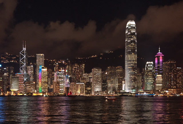 Hong Kong Skyline (香港夜景)