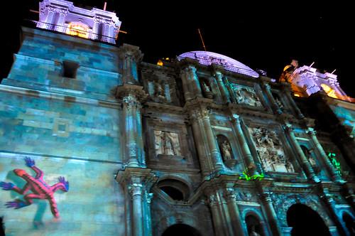 Espectáculo Multimedia Catedral Oaxaca (11)