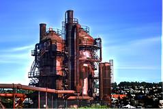 Rust Factory (BHagen) Tags: seattle nikon sigma gasworks pugetsound lakeunion gasworkspark hdr d90 sigma28105