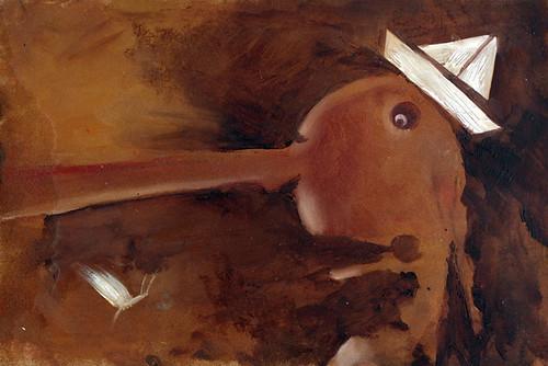 Pinocchio - Cricket, tell me by duegiraffe