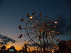 Ferris Wheel 2 (elj4176) Tags: county ohio wheel night lights gimp fair ferris olympus 565 richland digikam