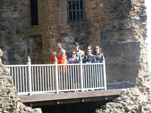 Tour Group at Urquhart Castle