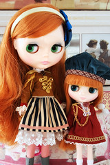 The Majorette Outfits (_*catching up*) Tags: cute me temple emily strawberry doll n always blythe mecanique creamy poupee cherish middie