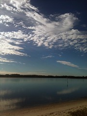 maroochy river (fi hocking) Tags: clouds wintermorning calmriver