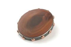 Knock on Wood (The Jewelry Story) Tags: brooch jewelry copper cherrywood sterlingsilver handmadejewelry thejewelrystory marionpannekoek bigbrooch atelierthejewelrystory