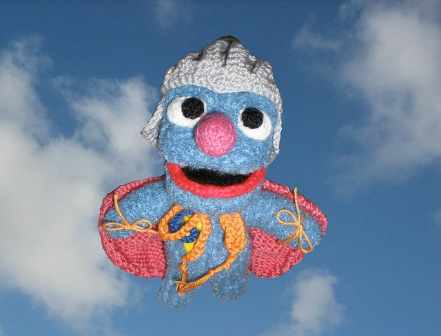 Super Grover Flies Again