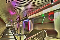 LA subway station 2301HDR (sjmonty99) Tags: la losangeles downtown hdr sjmonty99