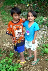 Toraja Kids (cowyeow) Tags: people cute smile kids rural children indonesia asian fun fishing funny asia child little sister brother farm traditional small farming young smiles culture adorable siblings farmland littlegirl littleboy sulawesi indonesian tanatoraja toraja rantepao