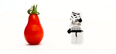 Tomato (W_Minshull) Tags: red food white tomato toys starwars lego plastic stormtrooper hikey