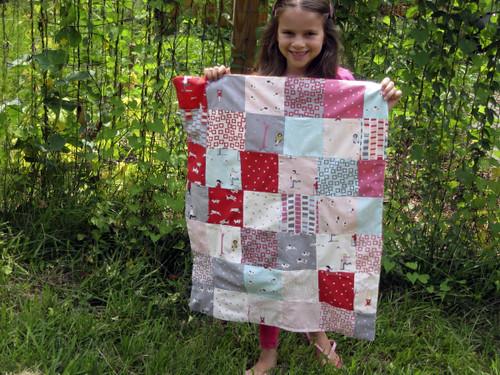 Aria's first quilt!