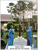 '12th Station of the Cross' at St. Anne's Sanctuary, Bukit Mertajam