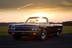1963 Lincoln Continental at Sunset (J.Owen Photo) Tags: sunset classic continental american lincoln buckscounty 1963 suicidedoors joshuasmith blowneuros jowenphoto