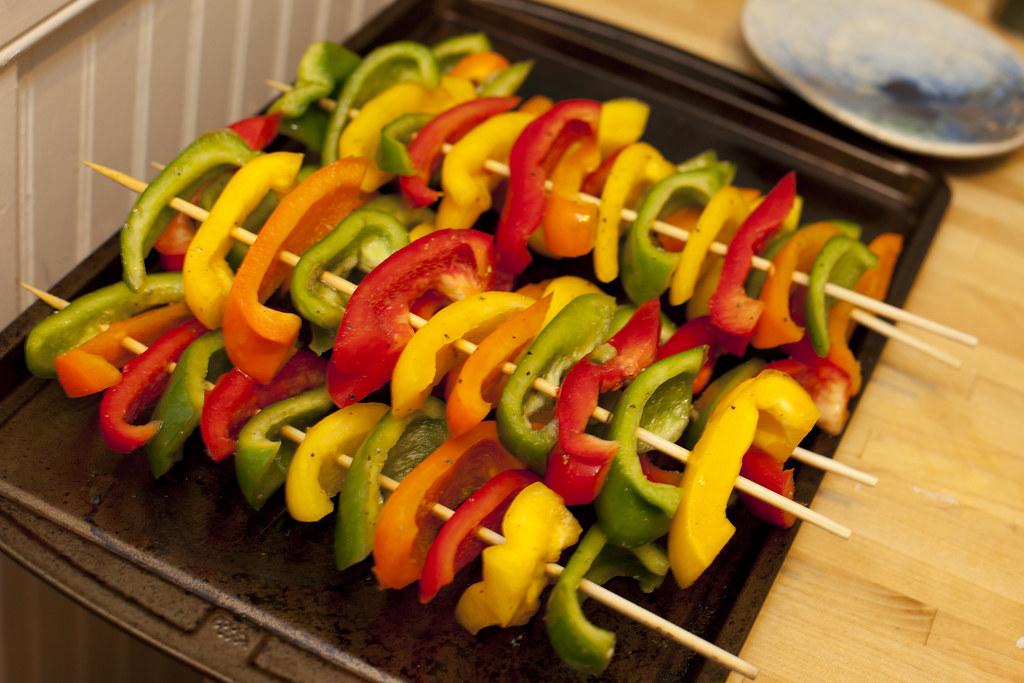 Pepper Kebabs