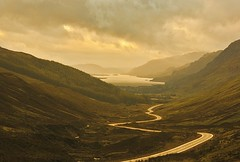 Road to Loch Maree, Scotland (David Alexander Elder) Tags: road scotland imagination loch et maree phantasmata