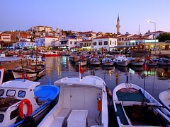 Bozcaada, Turkey (Frans.Sellies) Tags: sunset turkey evening day trkiye clear explore turquie t