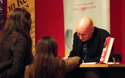 Edinburgh International Book Festival - Grant Morrison 08