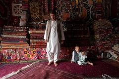 Carpet market in Mazri Sharf (varlamov) Tags: people afghanistan carpet market mazrisharf