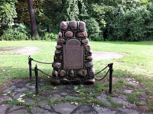 Castle Frank memorial