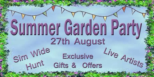 Summer Garden Party - August 27th