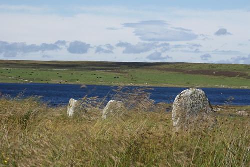 Standing Stones at Achavanich