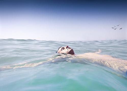 フリー写真素材, 人物, 男性, 海,