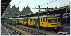 Maastricht Station (1973) (Amsterdam RAIL) Tags: dutch amsterdam ns rail mat railways 46 nederlandsespoorwegen alltypesoftransport muizenkop maastrichtmestreechlimburgzuidlimburgnederland