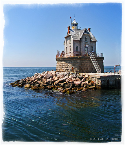 Race Rock Lighthouse by Alida's Photos