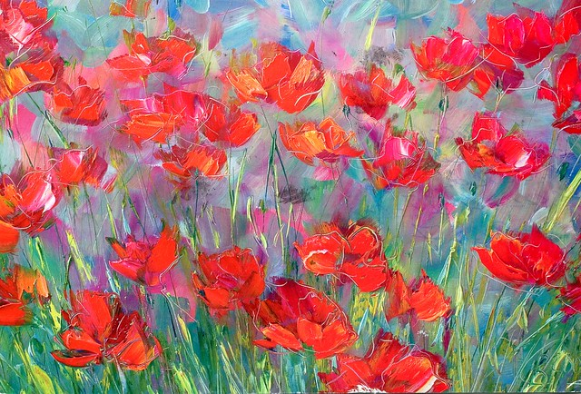 Field of Poppies by V. Kravchuk