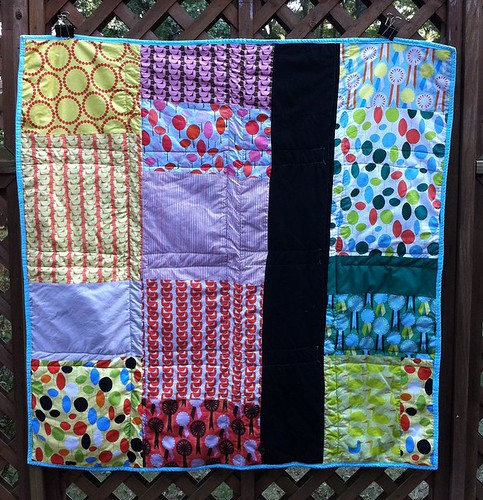 Red Letter Day quilt back
