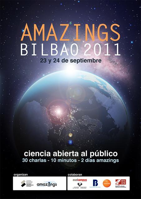 Amazings Bilbao 2011, las mejores píldoras de divulgación científica que se pueden tomar