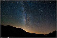 Stars Can Stare at You Back! (AM fotography) Tags: stars yosemite milkyway olmsteadpoint
