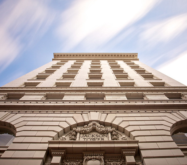 Jackson Tower - Long Exposure