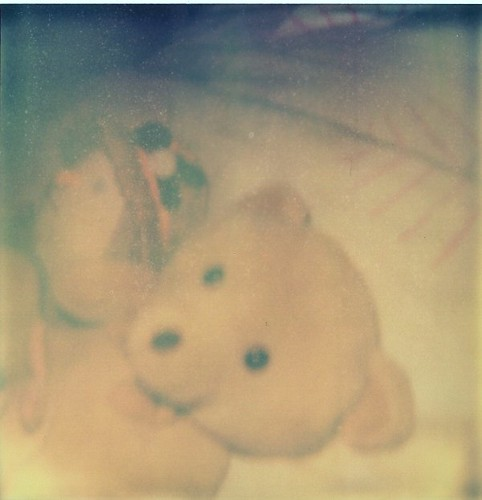For my little sister. Mr ted and his magical polaroid. (Playing with polaroid)