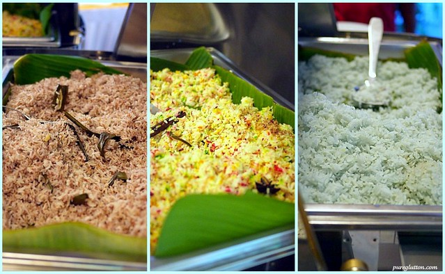 rice collage