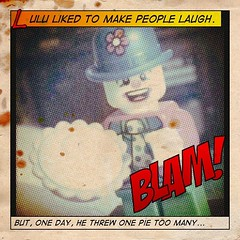 Clown Vengeance #halftone