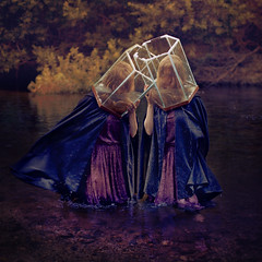how to break free (brookeshaden) Tags: girls water forest trapped break dress free fishtank clones cloak intertwined brookeshaden texturebylesbrumes