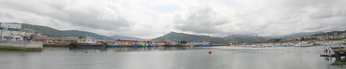 Colindres Harbor Panorama