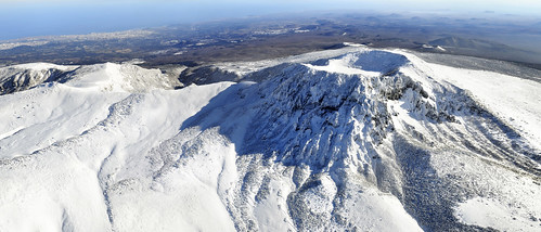 Mount Halla in winter