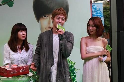 Kim Hyun Joong TFS Promo Event in Taiwan [110816]