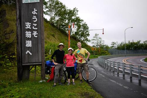 On our way to Lake Shikotsu, Hokkaido, Japan
