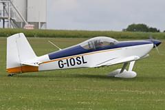 G-IOSL (QSY on-route) Tags: uk orm 2011 sywell aeroexpo egbk giosl 19062011