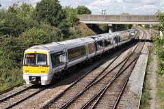 Clubman in FGWland (JohnGreyTurner) Tags: uk train br transport rail railway didcot oxfordshire chiltern 168 clubman dmu class168