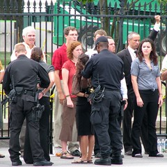 Tar Sands Protest -- 38 (Bullneck) Tags: summer washingtondc uniform gun cops whitehouse protest police toughguy americana heroes macho usparkpolice uspp federalcity