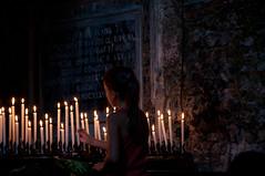 Devozione (NIKOZAR (Nicola Zaratta)) Tags: devozione candele chiesa nikond90 nikon nikkor18105 cattolici niceshot